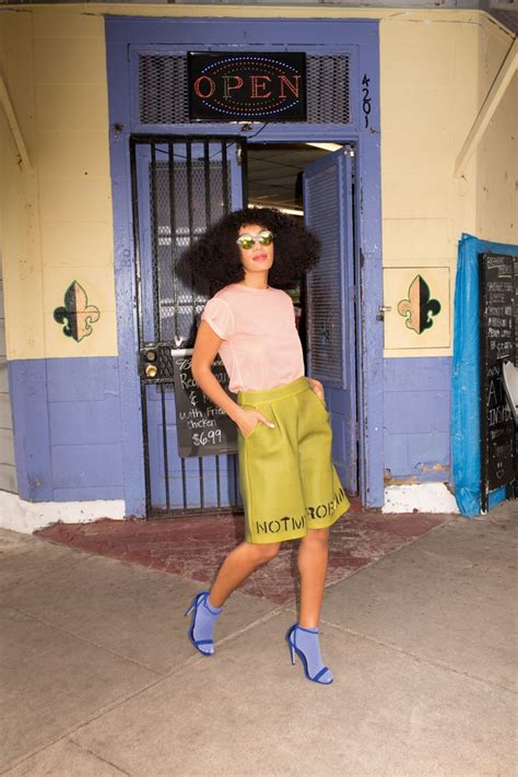 hair shows galveston texas june 2014 solange shows off her big hair and fashion style in asos