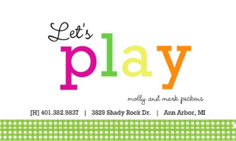 playdate cards printable template 50 x 2 00 folded card images frompo