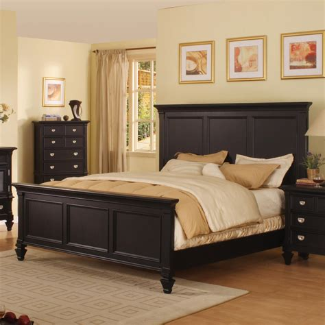 summer breeze black collection master bedroom bedrooms holland house summer breeze queen panel bed john v