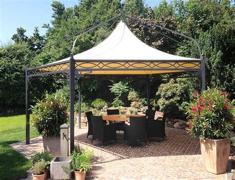 pavillon sechseckig luxus gartenpavillon aus metall