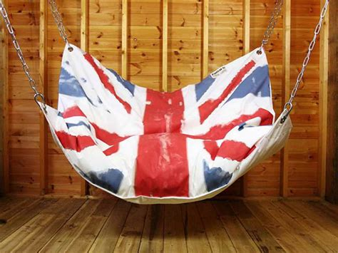 bean bag swing 20 epic ways to diy hanging and swing chairs home design