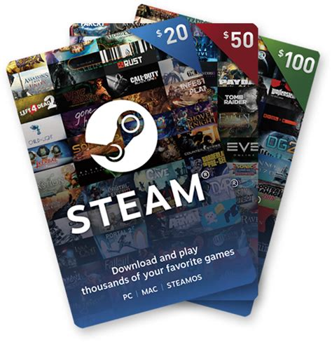 Send A Steam Gift Card - digital gift cards