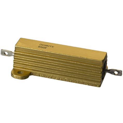 600 ohm resistor 600 ohm 50w wirewound precharge resistor high performance zero emission racing components