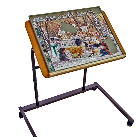 jigsaw puzzle table top 5 jigsaw puzzle tables ideal solutions for avid