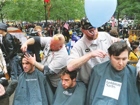 haircuts downtown fargo haircuts with a message in zuccotti downtown express