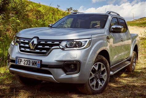 renault alaskan renault alaskan truck now on sale in europe