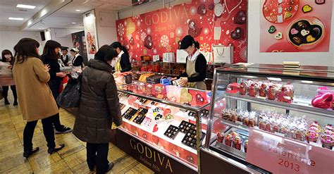 valentines day store japan not throng stores for valentines
