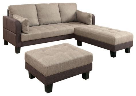 ottoman converts to bed ghent multi functional sofa futon and 2 ottomans converts