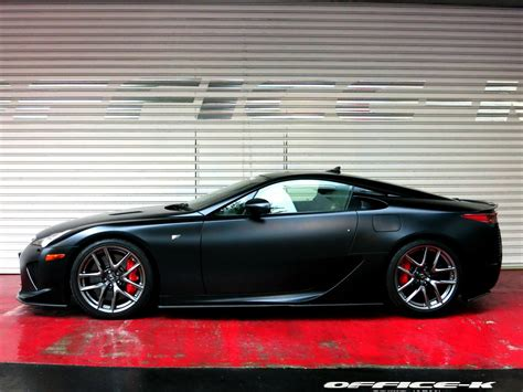 lexus lfa 2014 satin black lexus lfa by office k gtspirit