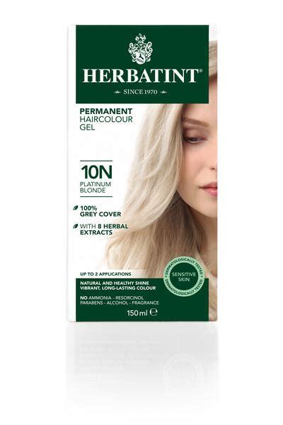 platinum blonde hair dye   ml  herbatint