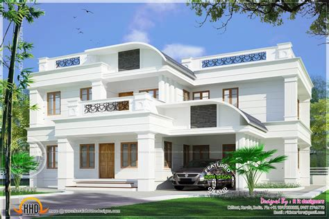 home parapet designs kerala style residence in kannur kerala indian house plans