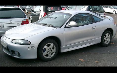 second generation mitsubishi eclipse front view by rudolf