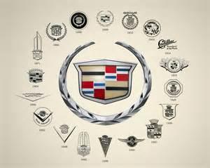Logo For Cadillac Design Collection Logo Evolution Of Brands
