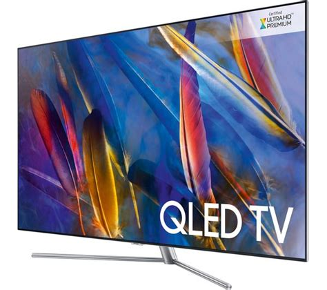 samsung 75 qled buy samsung qe75q7fam 75 quot smart 4k ultra hd hdr qled tv free delivery currys