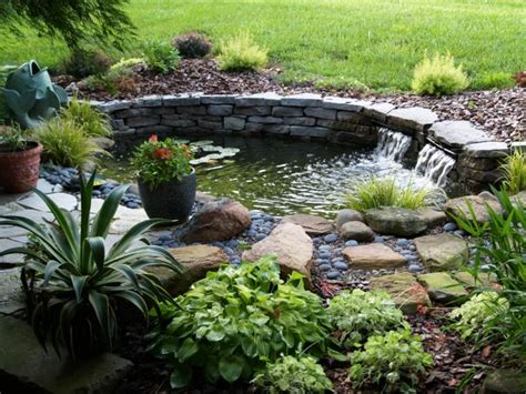 Small Home Pond Ideas Diy Easy Landscaping Ideas With Low Budget