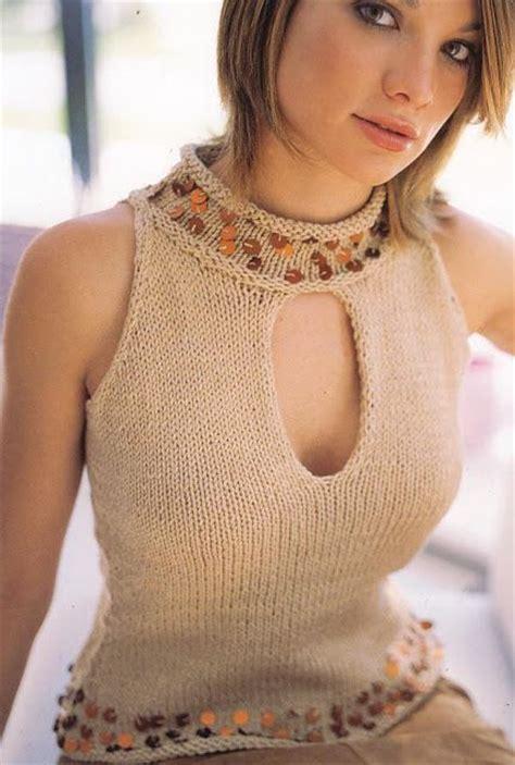videos de como hacer blusas tejidas a crochet como hacer blusas tejidas entre hilos y puntadas blusas