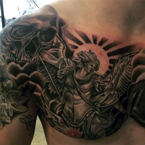 saint michael archangel tattoo designs 32 amazing half sleeve archangel tattoos