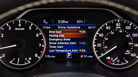 nissan rogue warning lights 2016 nissan maxima forward emergency braking feb