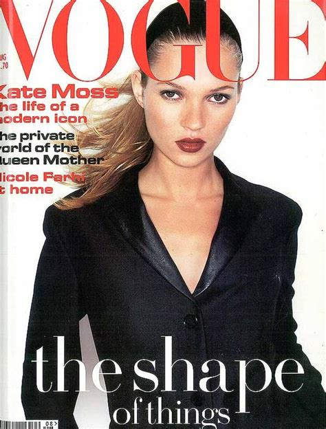 Miller Is Vogue Uks December Cover by Kate Moss 34 Vogue Uk Covers Flair360fashion