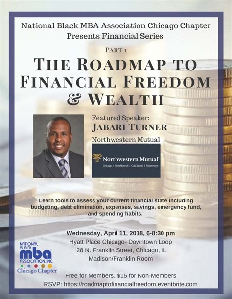 National Black Mba Conference 2018 Location by The Roadmap To Financial Freedom Wealth Series Part I