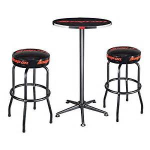 Snap On Tools Bar Stool Snap On Tool Table And Two Shop Stool Set