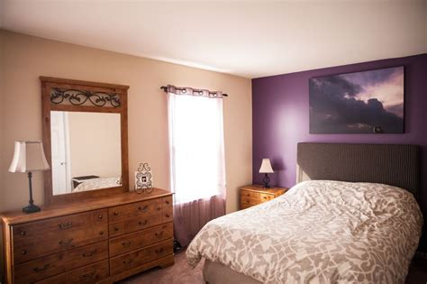 purple accent wall in bedroom pinterest discover and save creative ideas