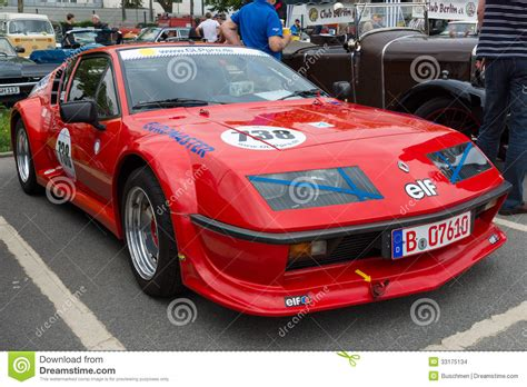 french sports cars french sports car renault alpine a310s editorial stock