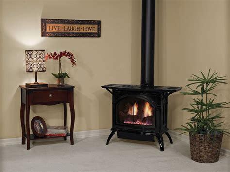 Freestanding Cast Iron Fireplace by Empire Direct Vent Cast Iron Stove Porcelain Black Medium