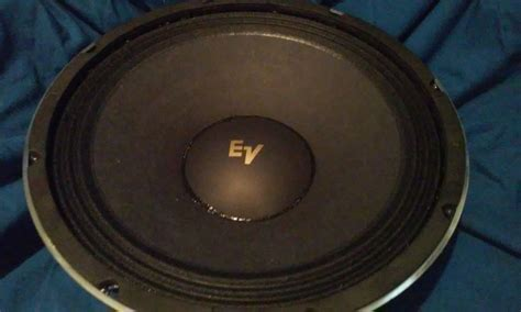 Speaker The Real Subwoofer 12 quot guitar speaker ev12l clone electro voice real oem ev