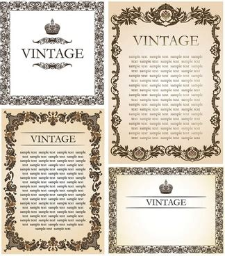 Undangan Vintage 02 border free vector 5 599 free vector for commercial use format ai eps cdr svg