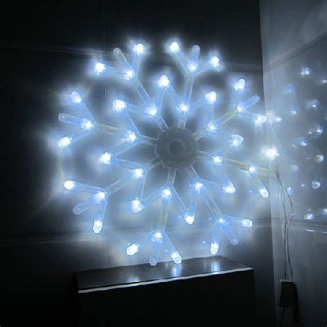 blue snowflake string lights 40 led colorful snowflake lights string curtain