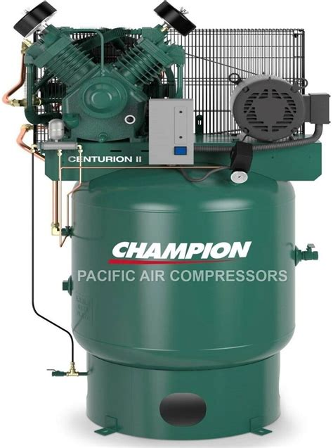 the best 7 5hp two stage single phase 80gal vertical chion air compressor new ebay