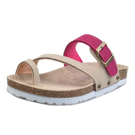 comfortable and stylish sandals fashion women sandals buckles summer slippers cork flat