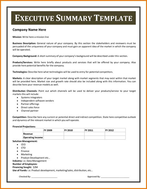 apa format executive summary template executive summary exle apa format executive summary