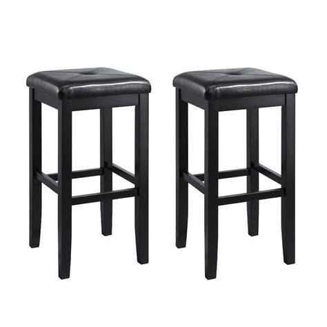 crosley furniture set   black bar stool  lowescom