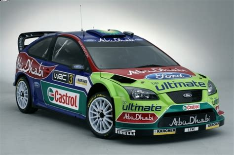 Ford Rally by Ford Unveil 2008 Livery Rallye Info