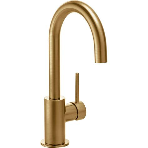 Delta 474 Faucet by Delta Single Handle Bar Faucet In Chagne