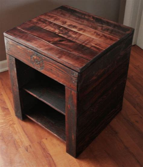 bedside table with secret compartment nightstand plans with compartment woodworking