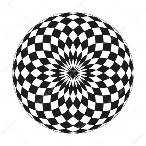 black and white round pattern geometric patterns black and white circle www pixshark