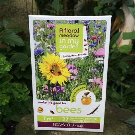 A Gift From A Flower To A Garden Seeds For Bees From Ruddick Garden Gifts