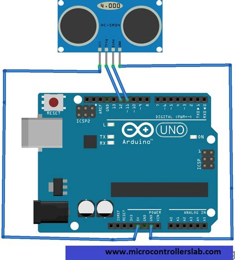 arduino code for ultrasonic sensor distance measurement using ultrasonic sensor and arduino