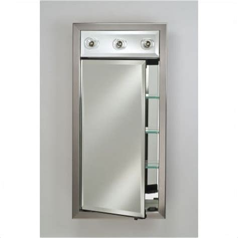 Recessed Medicine Cabinet With Lights Medicine Cabinets With Mirrors And Lights