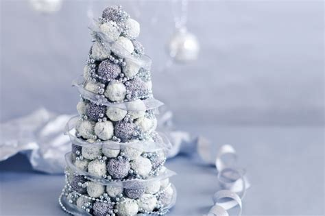 christmas truffle tree recipe taste com au