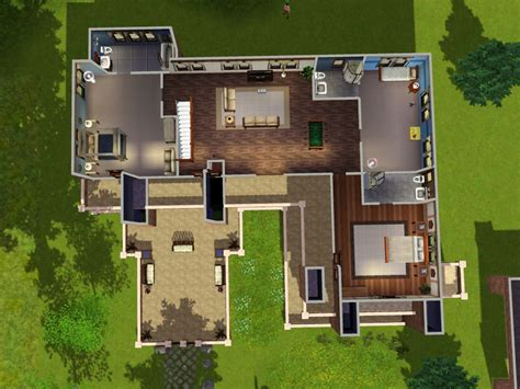 house lay out mod the sims the prairie house no cc
