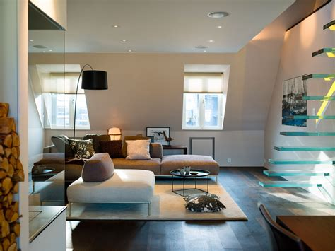 modern penthouses elegant modern penthouse with glass theme idesignarch