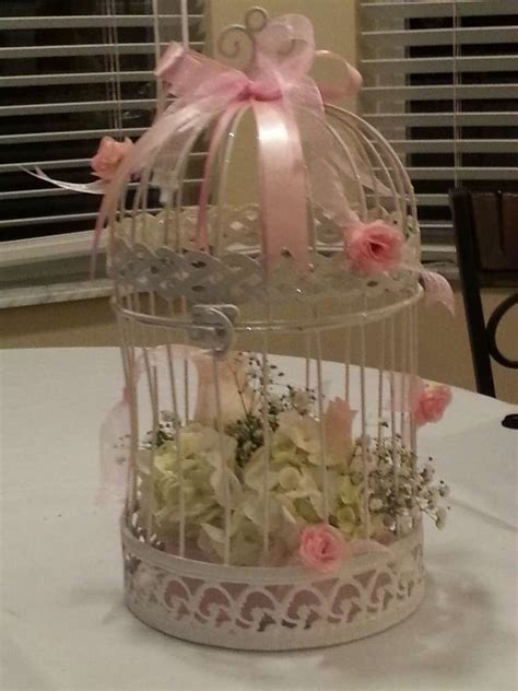 Baby Shower/Bird cage and flower Baby Shower Party Ideas