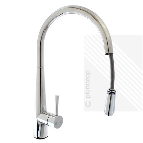 Arian Luna Modern Single Lever Kitchen Pull Out Mixer Tap