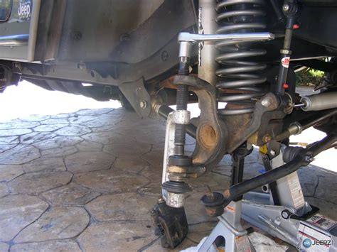 service manual ball replacement 2009 jeep commander jeep commander suspension front upper