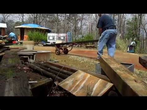 How To Move By Yourself by Diy How To Move A Heavy Timber By Yourself