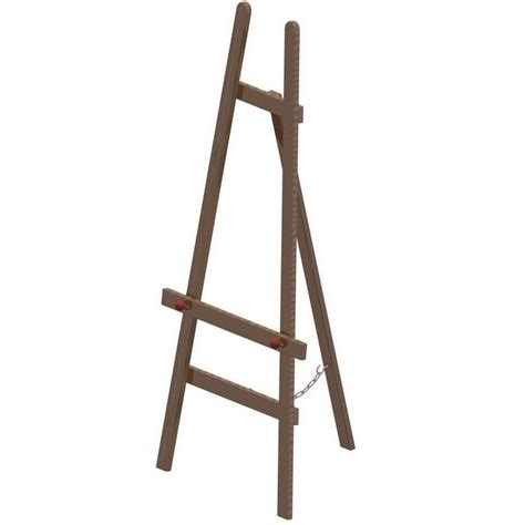 Wood Easel Stand Plans
